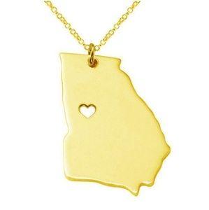 I ❤ Georgia Necklace- gold